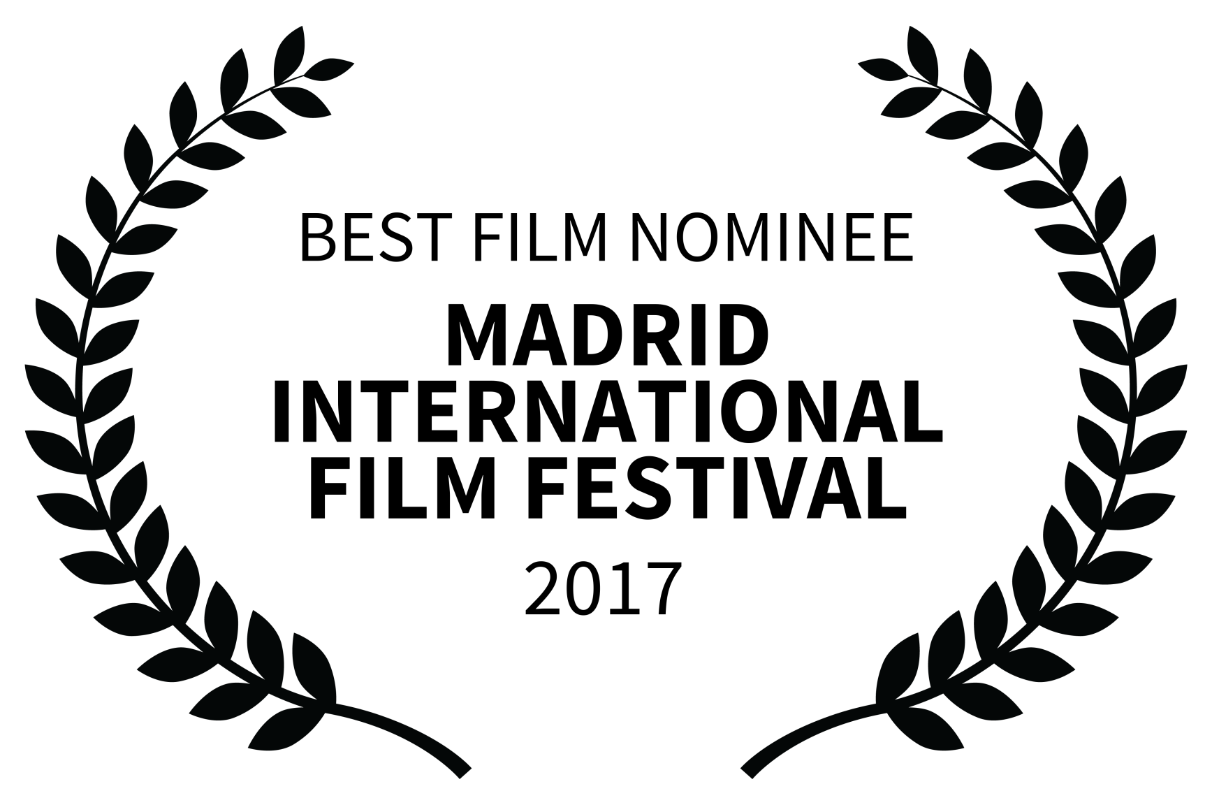 BEST FILM NOMINEE - MADRID INTERNATIONAL FILM FESTIVAL - 2017